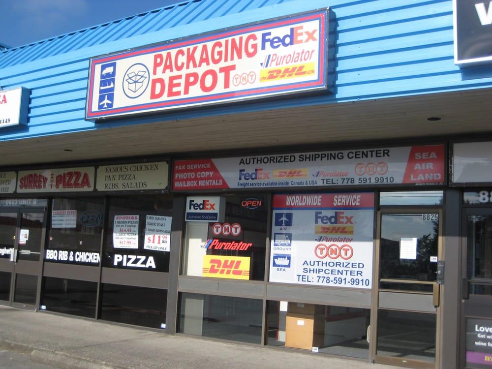 Packaging Depot Logistikzentrum 8825 120 Street Delta