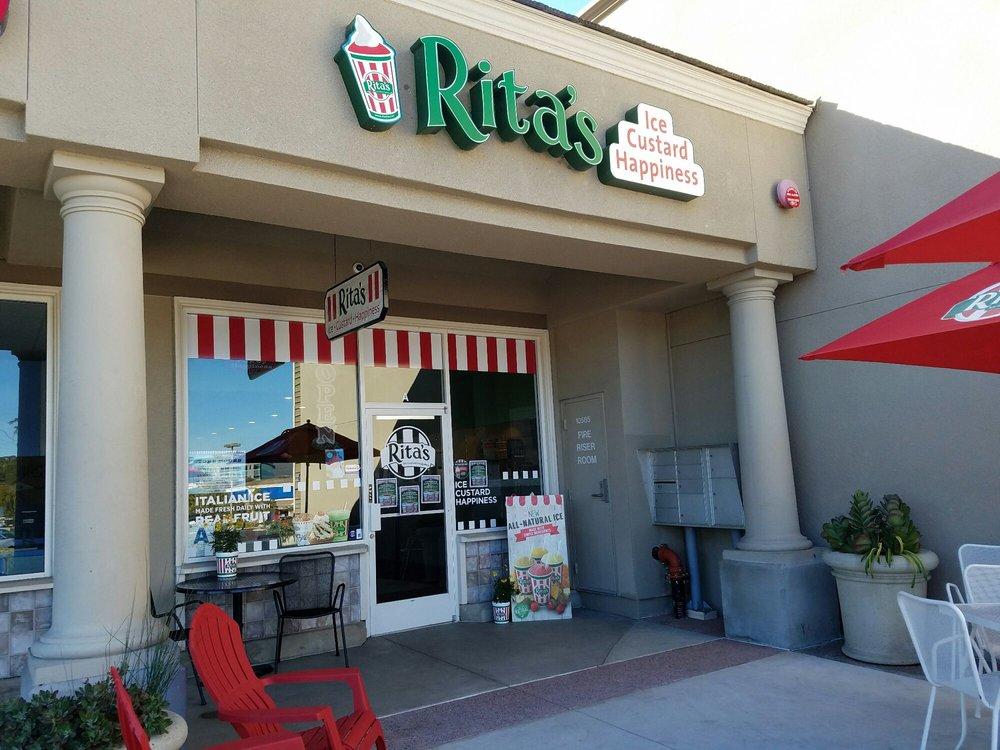 Rita's Italian Ice   Ice Custard Happiness
