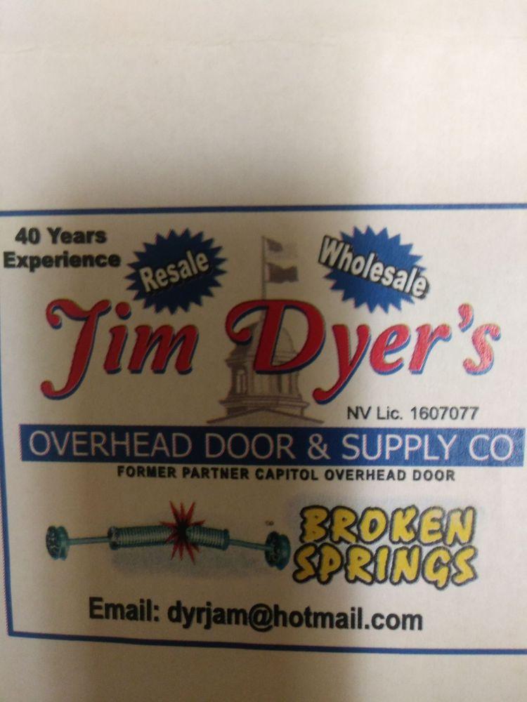 Jim Dyer Overhead Door: Carson City, NV