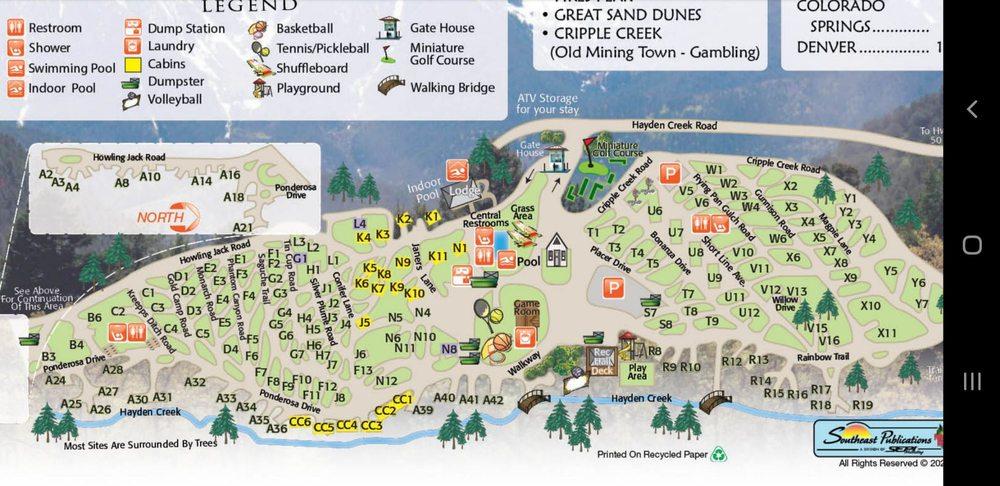 Cutty's Hayden Creek Resort: 3428 Hayden Creek Rd, Coaldale, CO