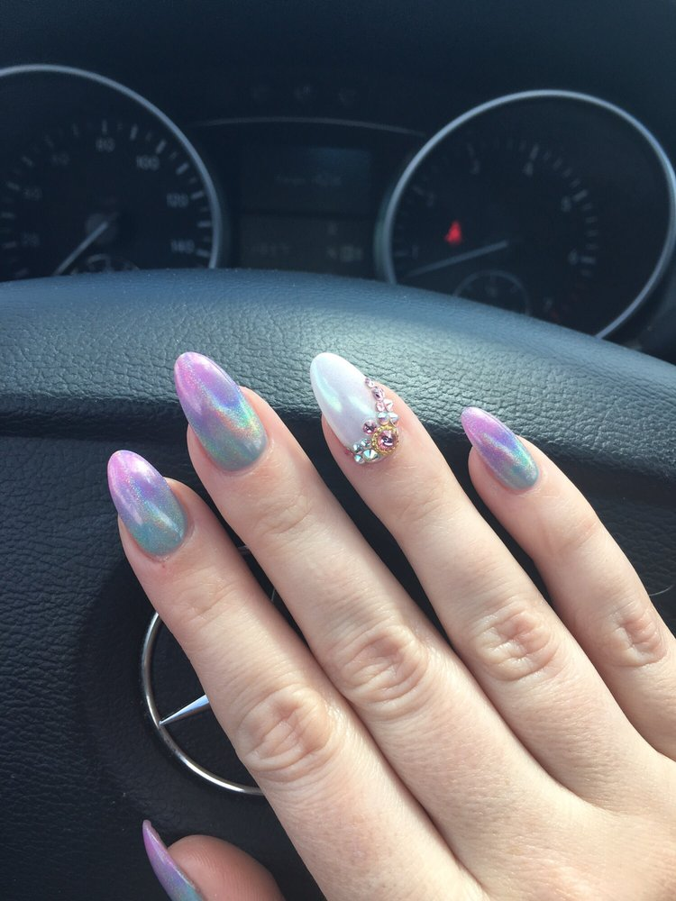 Photo Of S Nail Lounge Lansing Mi United States Unicorn Nails With