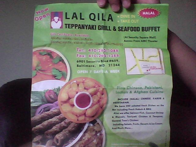 Lal Qila 44 Photos 74 Reviews Halal 6901 Security Blvd