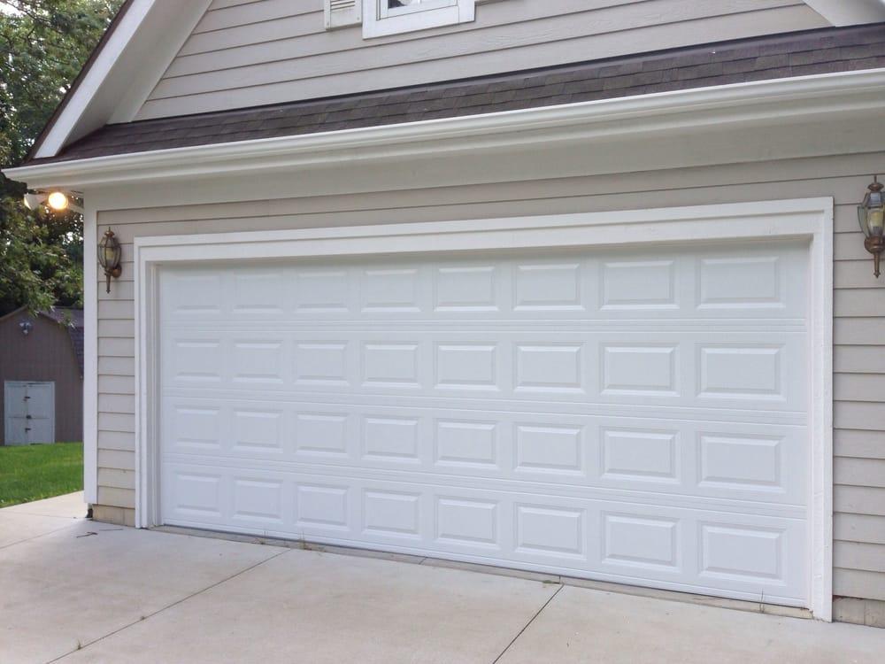 Amazing 16u0027 X 8u0027 Haas Garage Door   Model: 942W   Color: White   Window: 6 Pane.  Installed By Premier Door Service In Dexter, MI.   Yelp