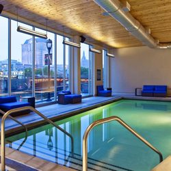 Photo Of Aloft Milwaukee Downtown Wi United States Splash Indoor Pool