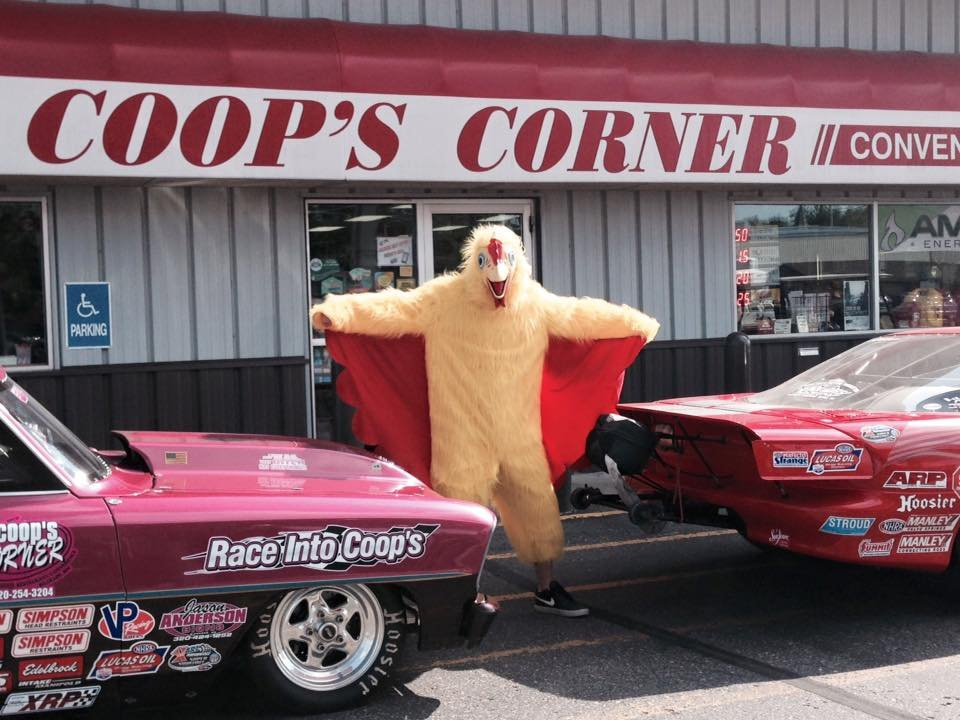 Coops Corner Pizza: 218 Wells St, Belgrade, MN