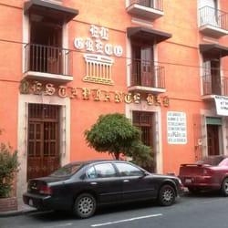 Restaurante bar el greco 15 oriente no 15 el carmen for El mural restaurante puebla
