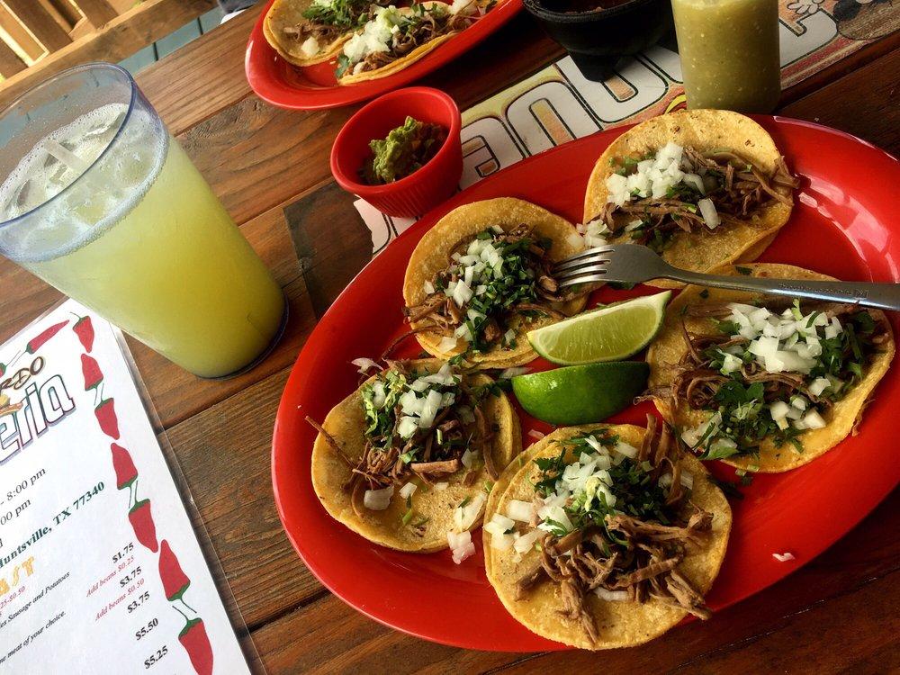 Food from El Gordo Taqueria