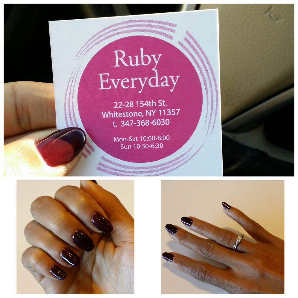 Ruby Nails salon: 22 28 154th St, New York, NY