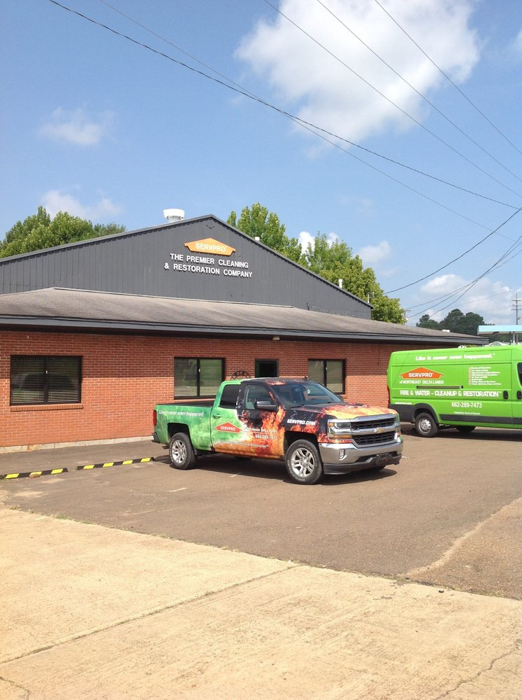 SERVPRO of Northeast Delta Lands: 21 Veteran's Memorial Dr., Kosciusko, MS