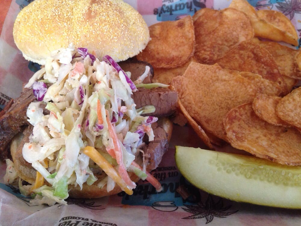 Brisket and spicy slaw yelp for One fish two fish restaurant