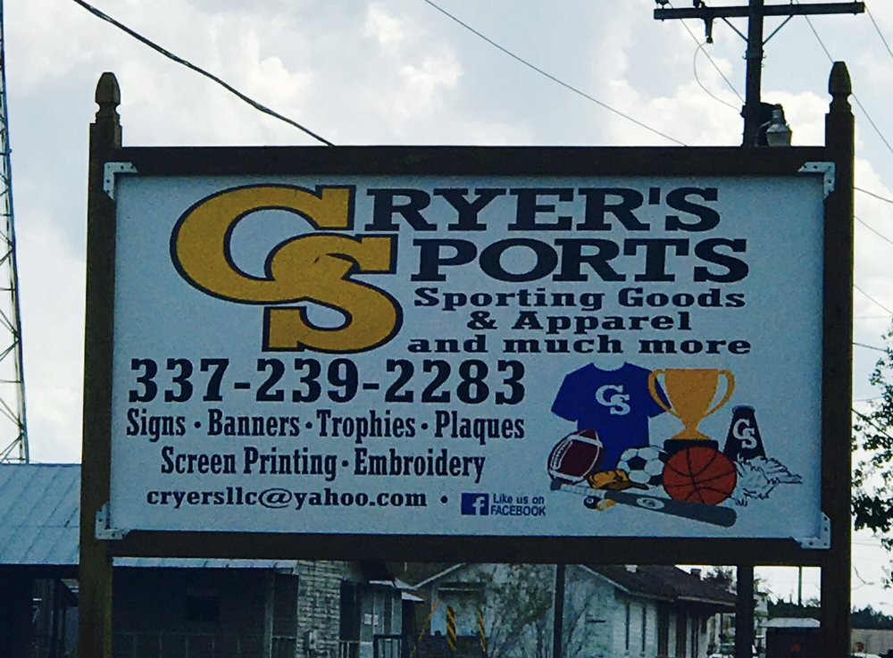 Cryer's Sports: 630 S 3rd St, Leesville, LA