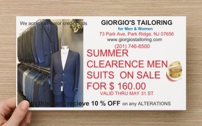 Giorgios Tailoring: 73 Park Ave, Park Ridge, NJ