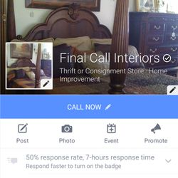 Final Call Interiors Used Vintage Consignment 1300 Reel Rd