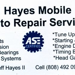 Hayes mobile auto repair services auto repair hawaii kai photo of hayes mobile auto repair services honolulu hi united states got reheart Gallery