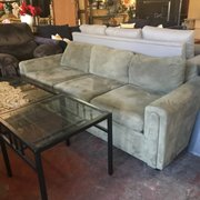 Grey Sofa $150 Chair Photo Of Gator Furniture   Gainesville, FL, United  States. Green Sofa $150 Chair