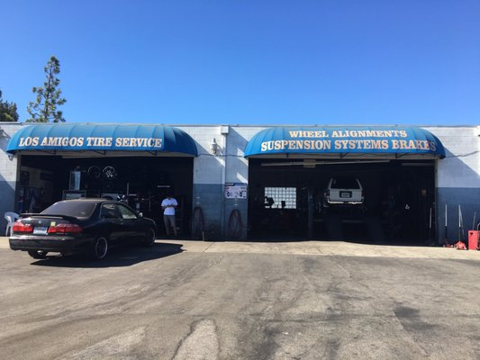 Amigos Tire Shop >> Los Amigos Tire Service 5414 W Mission Blvd Ontario Ca Tire Dealers