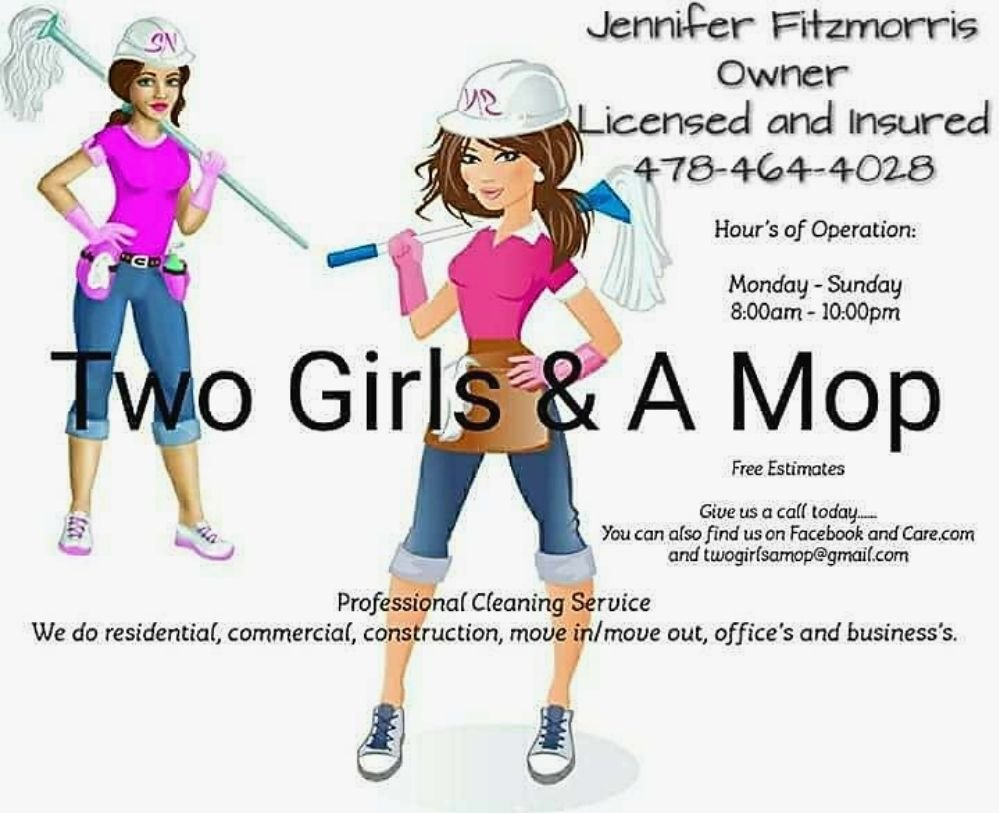 Two Girls & A Mop: 308 King Forest Dr, Warner Robins, GA