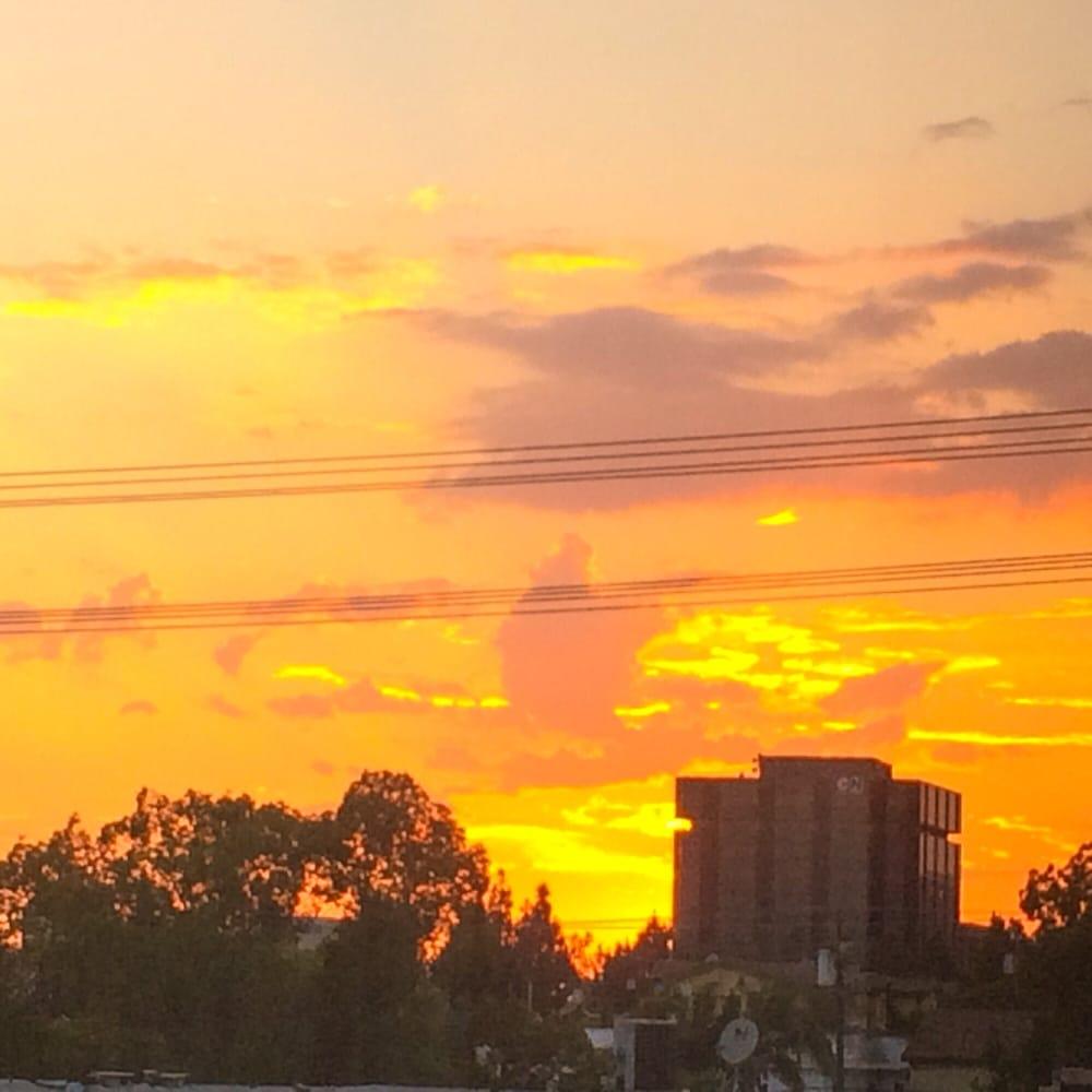 pin house cartoon sunset - photo #12