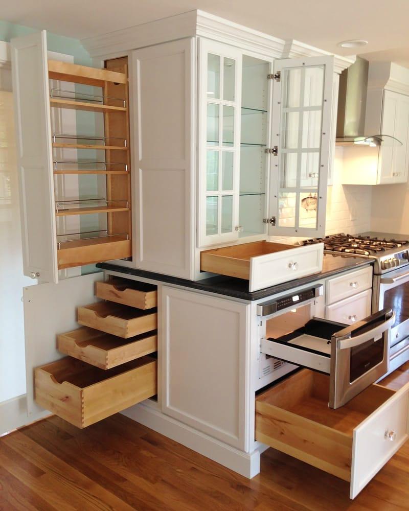 White Wood Kitchens Sandwich Ma
