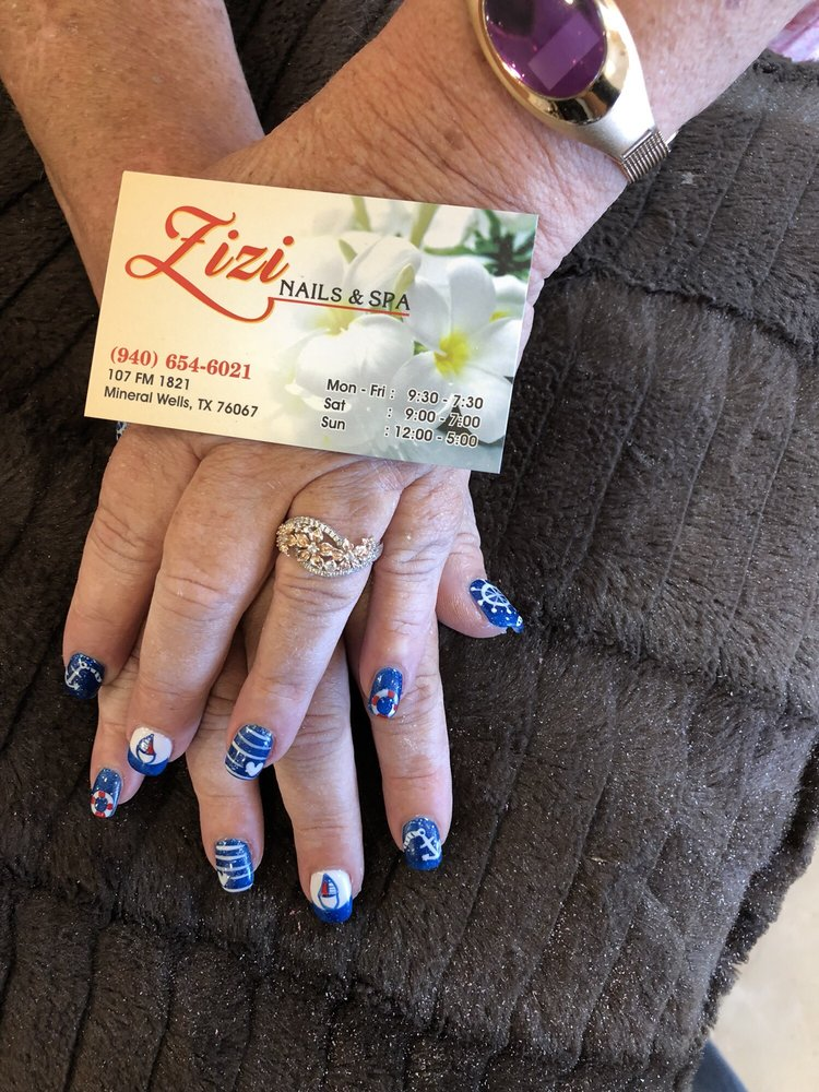 ZiZi nails and spa: 107 Farm To Market Rd 1821, Mineral Wells, TX
