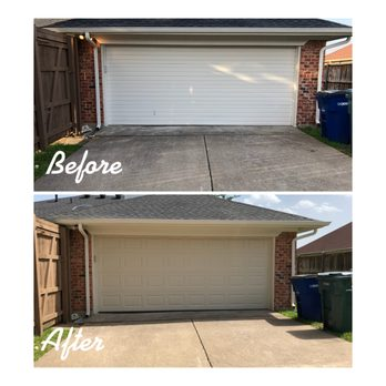Photo Of Plano Overhead Garage Door Tx United States Outside View