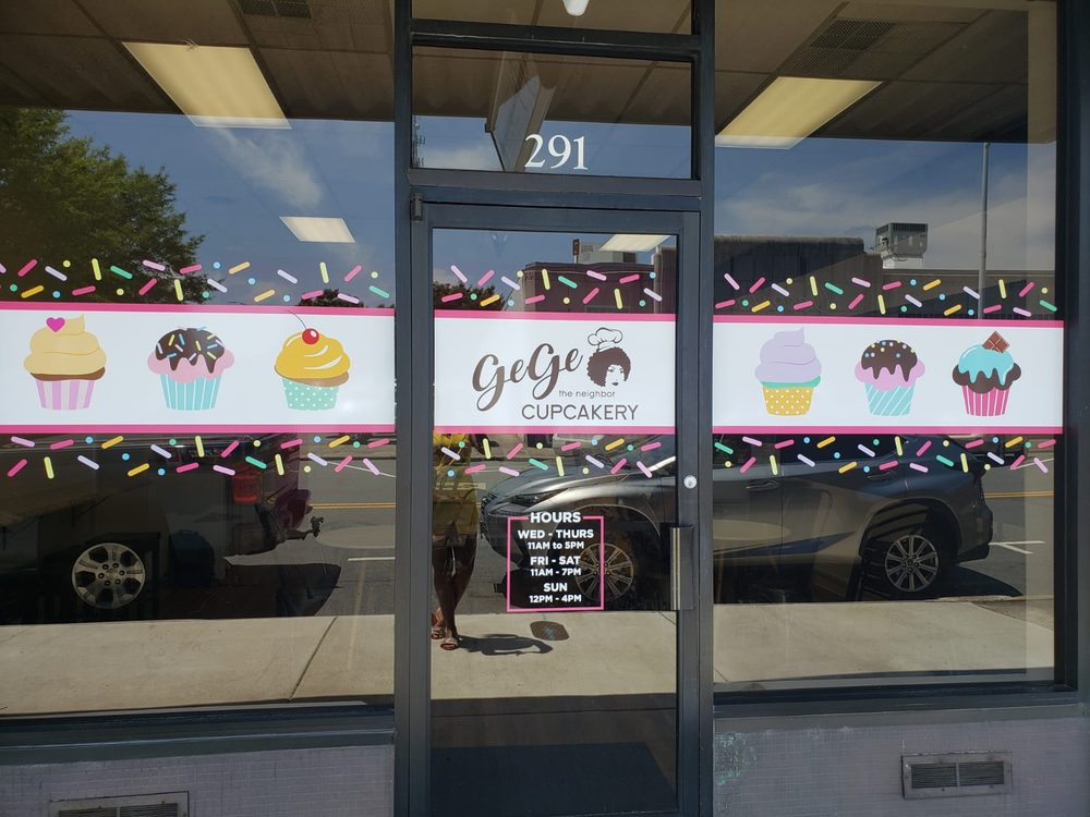 GeGe The Neighbor Cupcakery: 291 E Front St, Burlington, NC