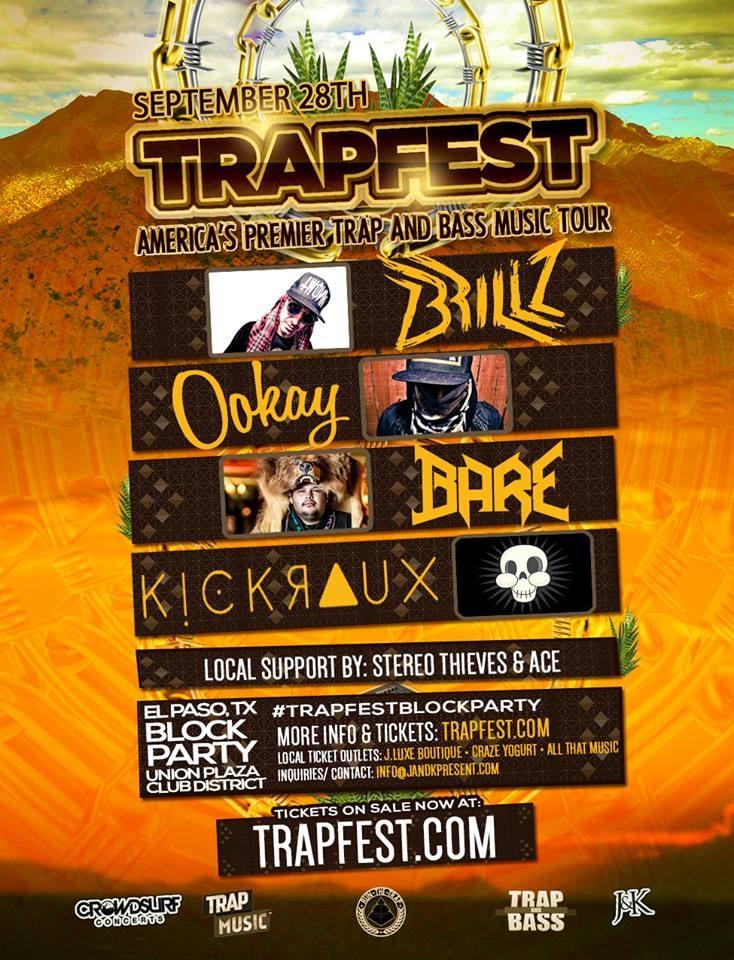 Trapfest: 510 N Santa Fe St, El Paso, TX