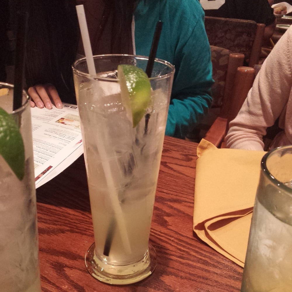 The Kiwi-Melon Limonata was a bit sweet for my sister, but for me (a ...