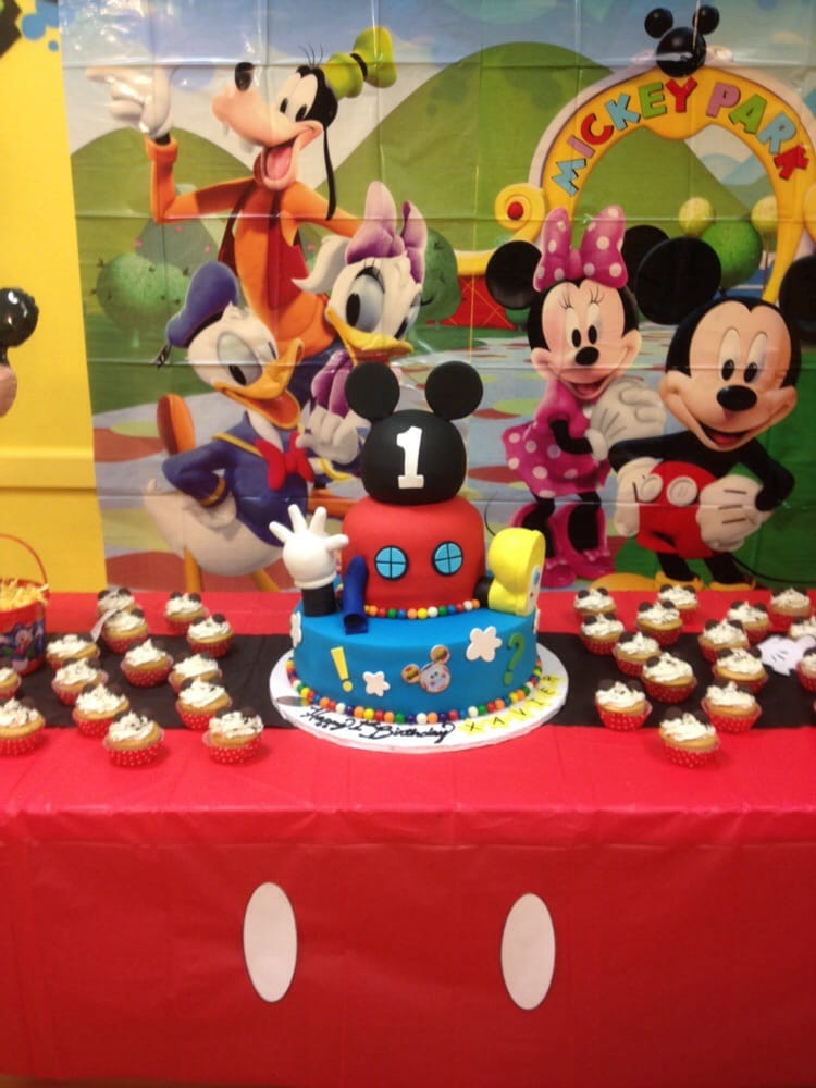 Cake 1 2015 My Sons Amazing 1st Birthday Cake Mickey Mouse