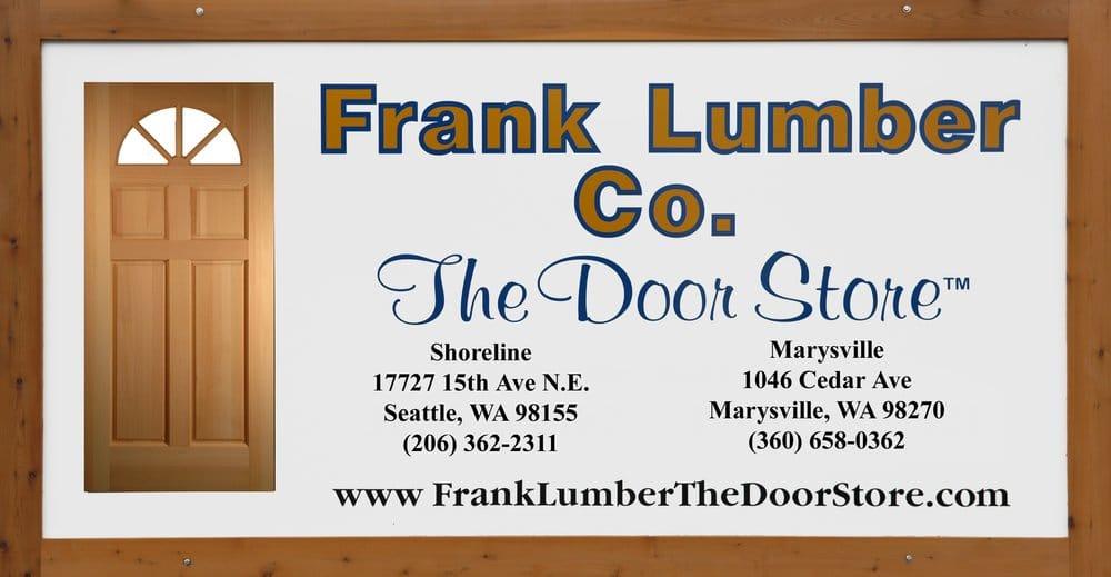 Photos For Frank Lumber Quot The Door Store Quot Yelp