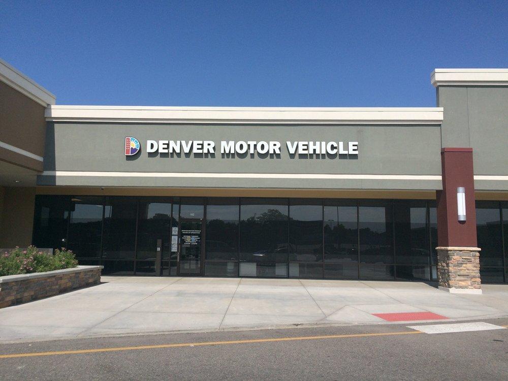 Denver Motor Vehicle: 2223 S Monaco Pkwy, Denver, CO