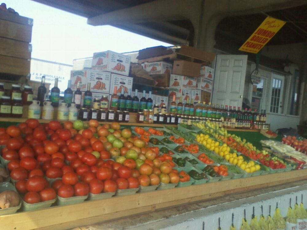 J p is the best place for fresh produce at farmers market - Market place at garden state park ...