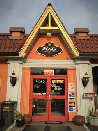 Rick's Antiques: 654 River Dr, Garfield, NJ