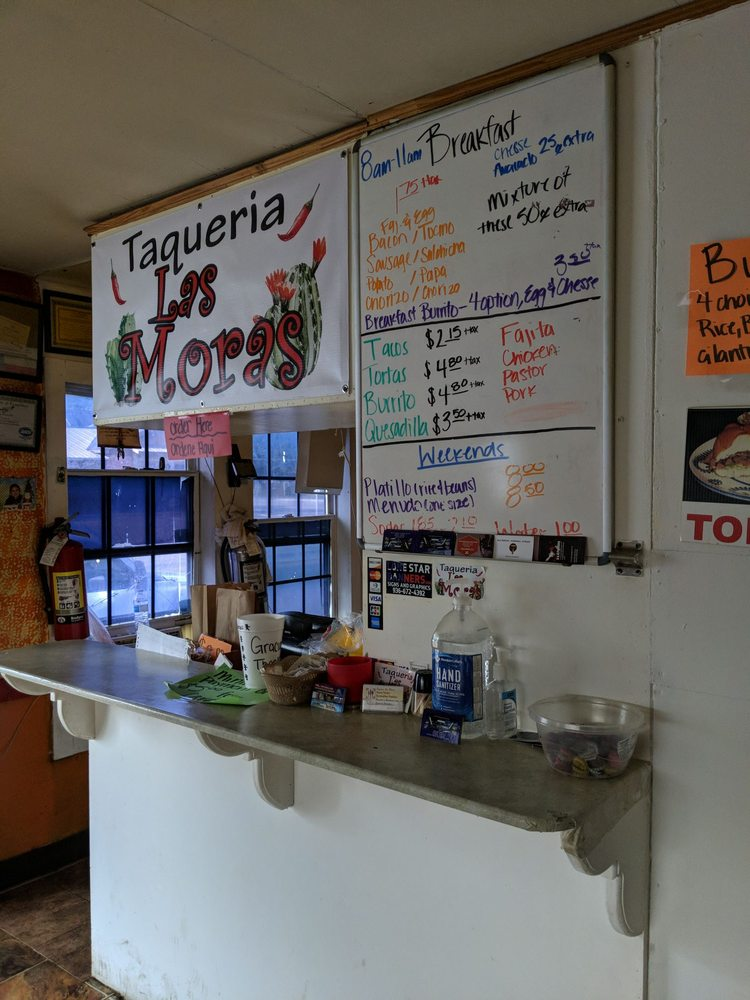 Taqueria Las Moras: 106 W Montgomery Rd, Willis, TX