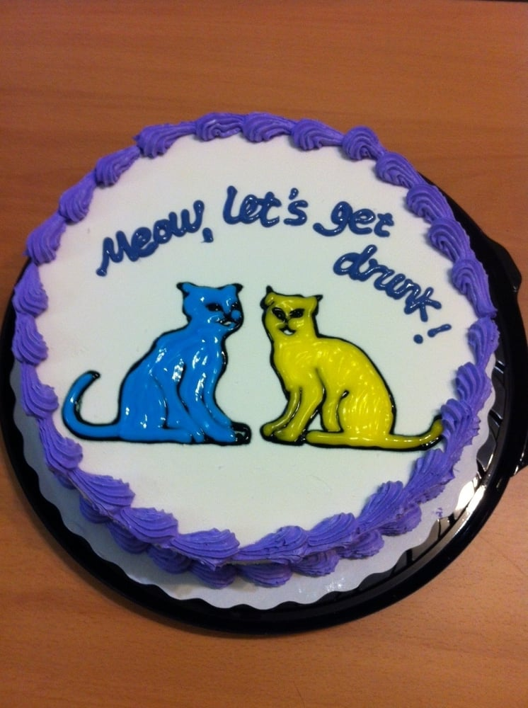 Birthday Cake Downtown Vancouver