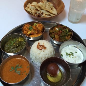 Photo Of Thali London United Kingdom Vegetarian