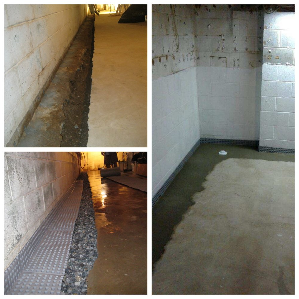 Waterproofing One: 4093 Hollow Rd, Phoenixville, PA