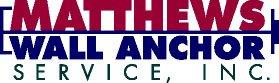 Matthews Wall Anchor & Waterproofing Services: 7250 Big Beaver Blvd, Beaver Falls, PA