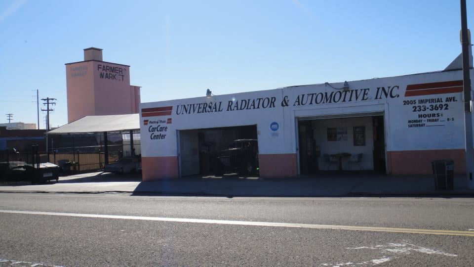 Universal Radiator & Automotive: 2005 Imperial Ave, San Diego, CA