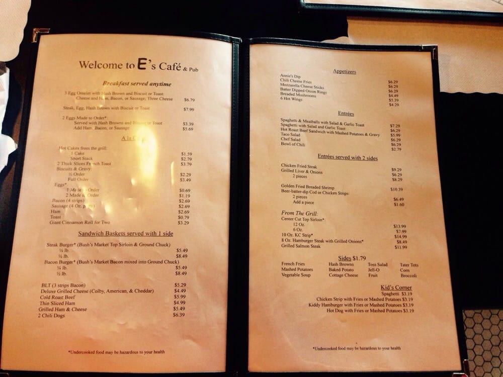 E's Cafe: 309 Poplar St, Solomon, KS