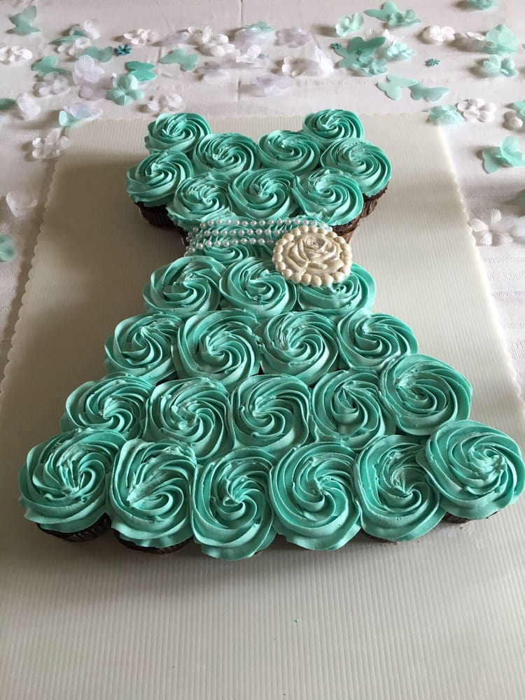 photo of kake korner laurel md united states bridal shower cupcake cake
