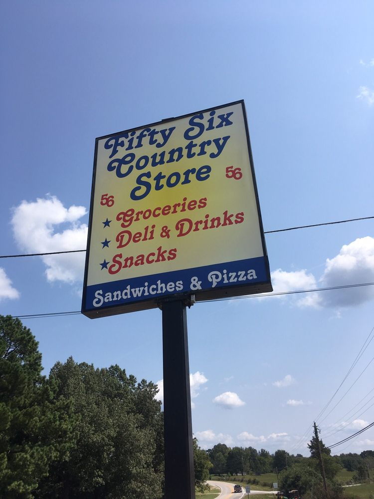 Fifty-six General store: 6661 Hwy14, Fifty-Six, AR