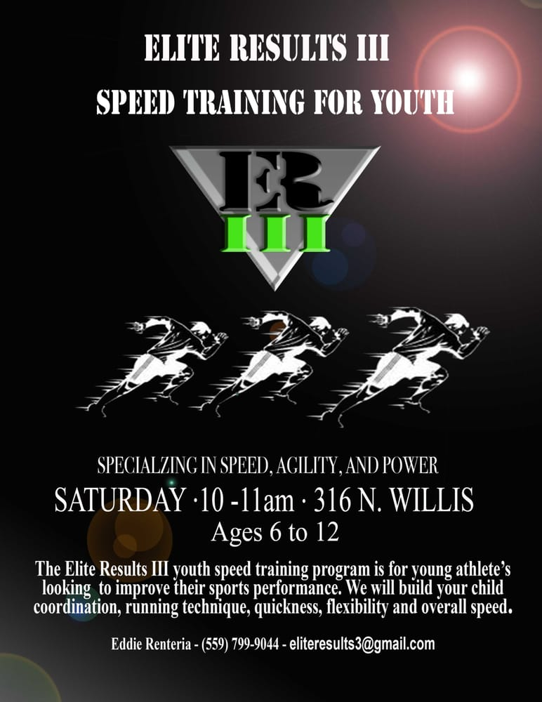 Youth Speed and Agility Training! - Yelp