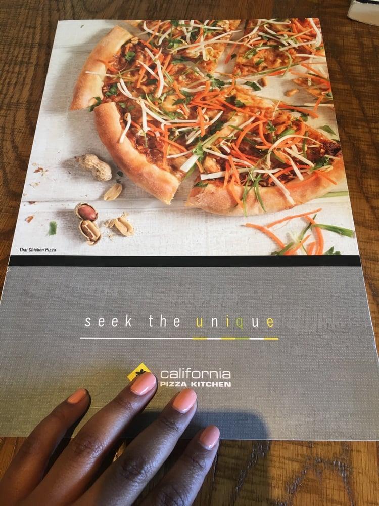 California Pizza Kitchen Beverly Hills Menu