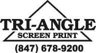 Triangle Screen Print: Bellwood, IL