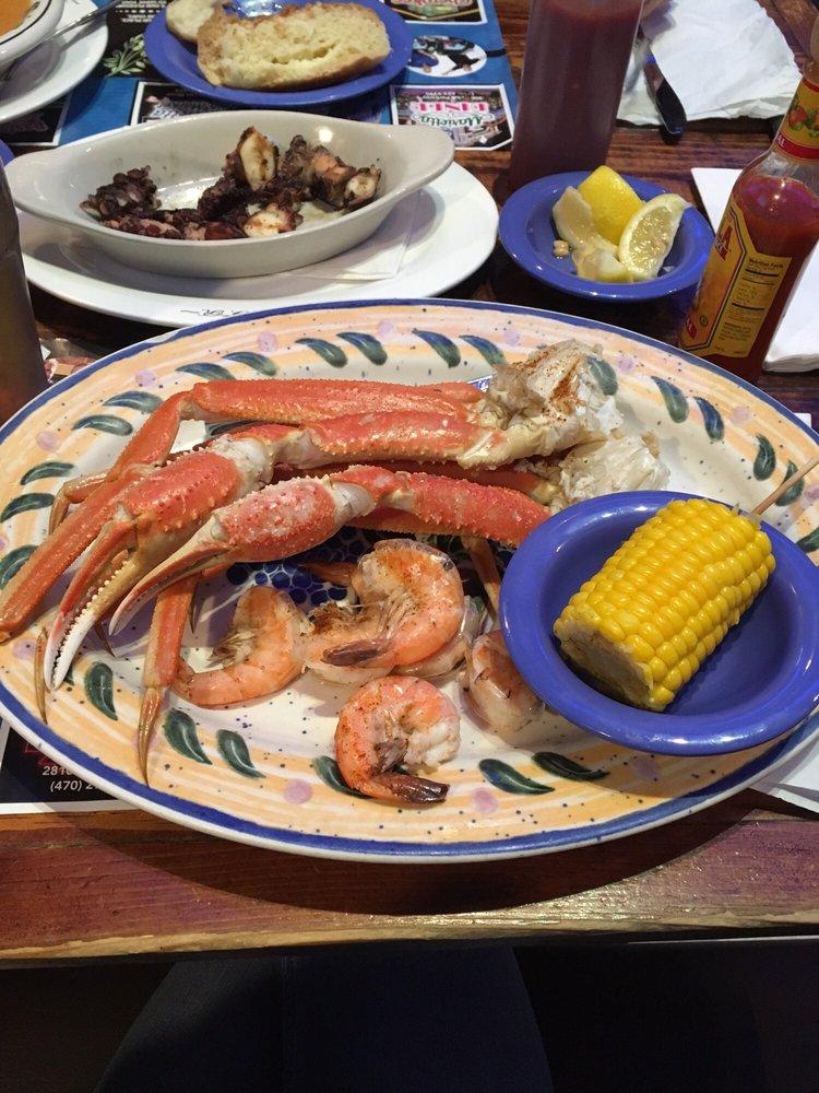 Crab peel and eat shrimp delicious fresh corn yelp for Marietta fish market