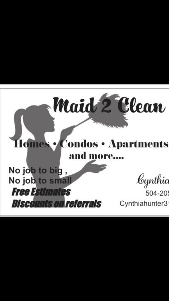 Maid 2 clean: Hammond, LA