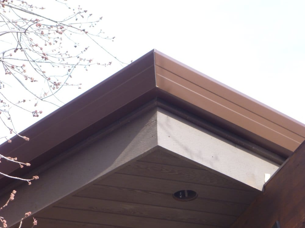 Our Contemporary Quot Fascia Profile Quot Gutter Yelp