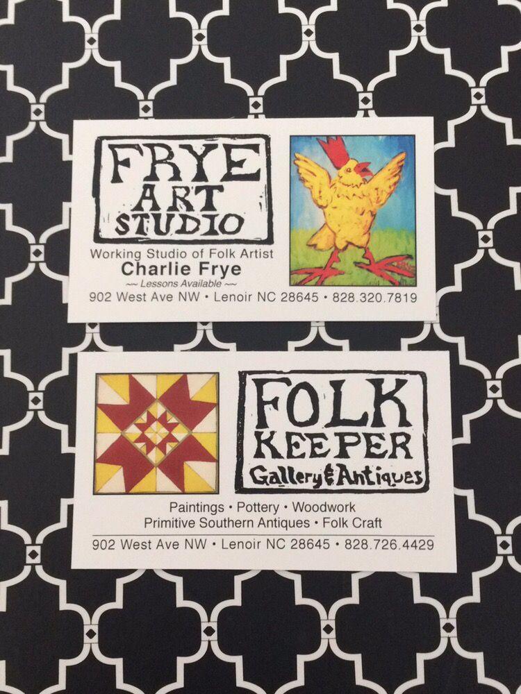 Frye Art Studio: 902 W Ave, Lenoir NC, AL