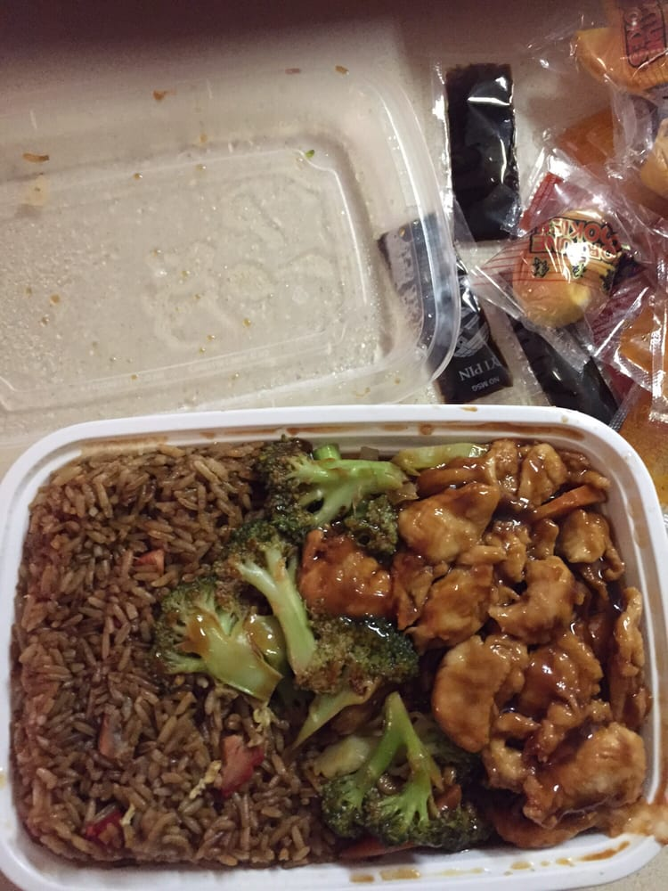 Chicken and broccoli combo so good yelp for Accord asian cuisine ny